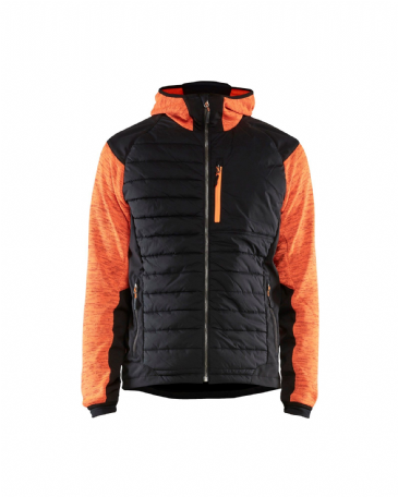 Blaklader 5930 Padded Hybrid Jacket (Orange / Black)